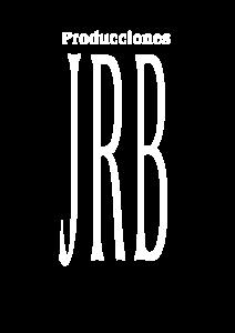 logo jrb producciones blanco
